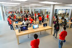 Apple store Royalty Free Stock Photography
