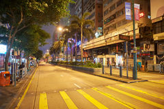 Hong Kong. 25 DECEMBER 2015: Kowloon at night. Kowloon is an area in  comprising the Kowloon Peninsula and New Kowloon Stock Photography
