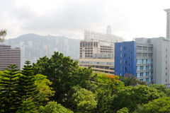 Hong Kong del centro Fotografie Stock Libere da Diritti