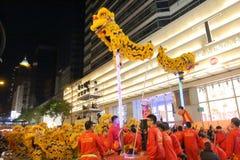 Hong Kong: Den internationella kinesiska natten för det nya året ståtar 2016 Arkivbilder