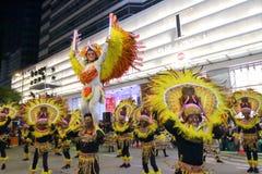Hong Kong: Den internationella kinesiska natten för det nya året ståtar 2016 Fotografering för Bildbyråer