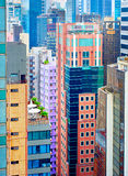 Hong Kong density Royalty Free Stock Photography