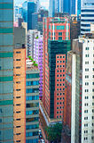 Hong Kong density Royalty Free Stock Photo
