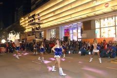 Hong Kong: Desfile chino internacional 2016 de la noche del Año Nuevo Imagen de archivo