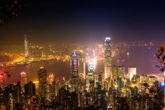 Hong Kong di punta Immagine Stock Libera da Diritti