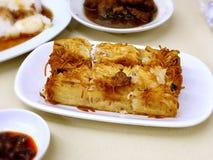 Hong Kong Dim Sum - Mee Sua Cake 麵線粿 Royalty Free Stock Photos