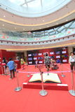 Hong Kong Discover die Grundgesetzausstellung 2015 lizenzfreie stockfotos