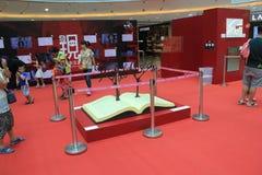 Hong Kong Discover la mostra 2015 di legge fondamentale Immagini Stock Libere da Diritti