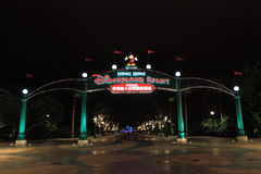 Hong Kong Disneyland fotografia stock libera da diritti