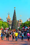 Hong Kong Disneyland stockbild