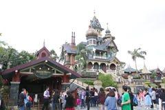 Hong Kong Disneyland imagem de stock