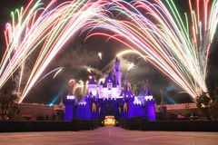 Hong Kong Disneyland imagem de stock royalty free