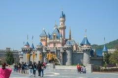 Hong Kong Disneyland immagine stock