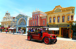 Hong kong disneyland main street Royalty Free Stock Images