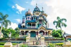 HONG KONG DISNEYLAND: Mystic Manor, the mystery house Stock Photos