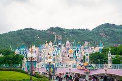 HONG KONG DISNEYLAND: It`s a small world. It`s a small world in Hong Kong Disneyland Royalty Free Stock Image