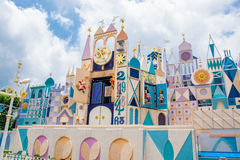 HONG KONG DISNEYLAND: It`s a small world. It`s a small world attraction Stock Photography