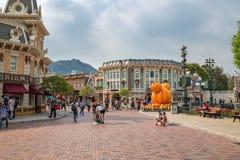 Hong Kong Disneyland Theme Park foto de stock royalty free