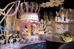 Hong Kong Disneyland Theme Park imagem de stock