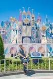 Hong Kong Disneyland Theme Park fotos de stock royalty free