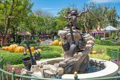 Hong Kong Disneyland Theme Park imagens de stock royalty free