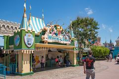Hong Kong Disneyland Theme Park imagens de stock