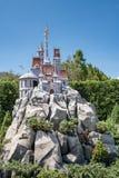 Hong Kong Disneyland Theme Park fotos de stock