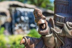 Hong Kong Disneyland Theme Park fotografia de stock
