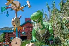 Hong Kong Disneyland Theme Park imagem de stock royalty free