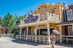 Hong Kong Disneyland Theme Park foto de stock