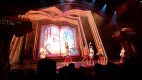 Hong Kong Disneyland Theme Park arkivfilmer