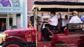 Hong Kong Disneyland Theme Park stock video