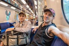 Hong Kong Disneyland Train immagini stock libere da diritti