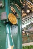 Hong Kong Disneyland Train Station fotos de stock royalty free