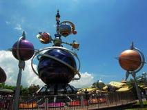 Hong-Kong Disneylandya Foto de archivo libre de regalías