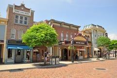 Hong-Kong Disneylandya Fotos de archivo libres de regalías