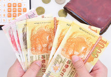 Hong Kong dolara banknoty Fotografia Stock