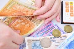 Hong Kong dolara banknoty Obrazy Royalty Free