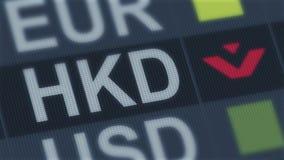 Hong Kong dolara spadać Światowy wekslowego rynku brak kryzysu pieniężny globalny zbiory