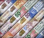Hong Kong dolara tło Obraz Royalty Free