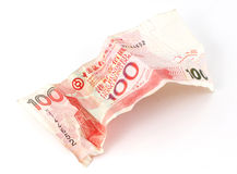 Hong Kong Dollar 100 Note Royalty Free Stock Images