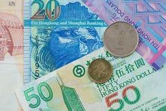 Hong Kong dollar Arkivfoton