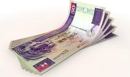 Hong Kong Dollar Bank Notes Spread Stock Photography