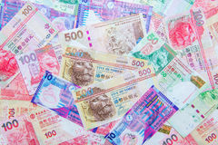 Hong Kong Dollar currency Royalty Free Stock Images