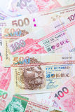 Hong Kong Dollar currency Royalty Free Stock Photo