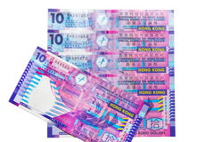Hong Kong Dollar currency Royalty Free Stock Image