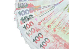 Hong Kong Dollar-munt Royalty-vrije Stock Foto's