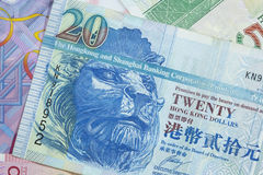 Hong Kong Dollars Stock Images