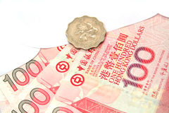 Hong Kong Dollars Stock Photo