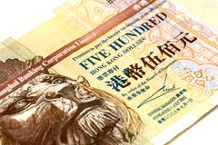 Hong Kong Dollars Royalty Free Stock Photography